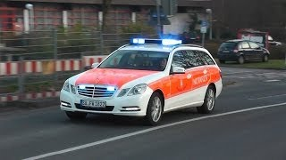 preview picture of video 'Neues NEF Feuerwehr Siegburg + RTW DRK Hennef (Sieg) (HD)'