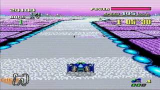 F-Zero (SNES) - Queen League - Blue Falcon - Master Class
