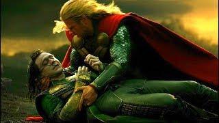 Loki's Death Scene - Thor and Loki vs Kurse & Dark Elves - Thor: The Dark World (2013) Movie CLIP HD