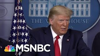 breaking down trump's sunday corona conference white house task force msnbc