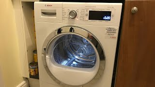 BOSCH, Heat Pump Tumble Dryer, Overview & Demo