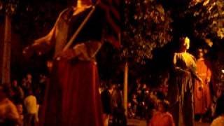 preview picture of video 'Gegants festa Les Corts 2008 Barcelona'