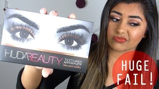 HUDA BEAUTY Textured Shadows Palette Rose Gold Edition ❄ Review & Swatches!