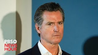 WATCH: California Governor Gavin Newsom gives COVID-19 and wildfire updates