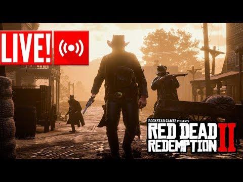 LIVE - Red Dead Redemption 2 Online - MATANDO TUDO E TODO NO XBOX!