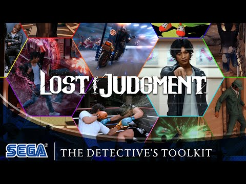 Lost Judgment   The Detective's Toolkit