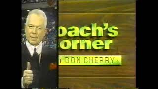 1991 Molson HNIC Stanley Cup Finals intro & bumpers