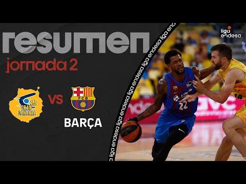 CB Gran Canaria vs FC Barcelona Basquet</a> 2021-09-22