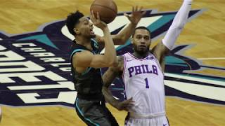 Hornets Fall to 76ers in 118-114 Nail-biter
