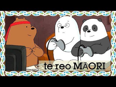 We Bare Bears | Grizzly: Ultimate Hero Champion (Māori) | Cartoon Network