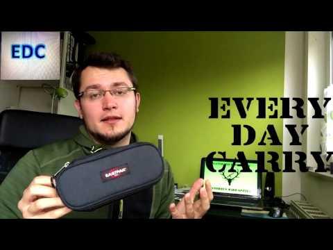 EDC Tasche - was ich täglich dabei habe