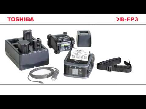 Toshiba TEC B-FP3D Mobile Receipt and Label Printer - Direct Thermal  video thumbnail