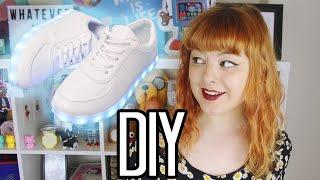 DIY LIGHT UP SHOES | Make Thrift Buy #25