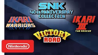 Ikari Trilogy Trailer - SNK 40th Anniversary Collection - Nintendo Switch - Video Youtube
