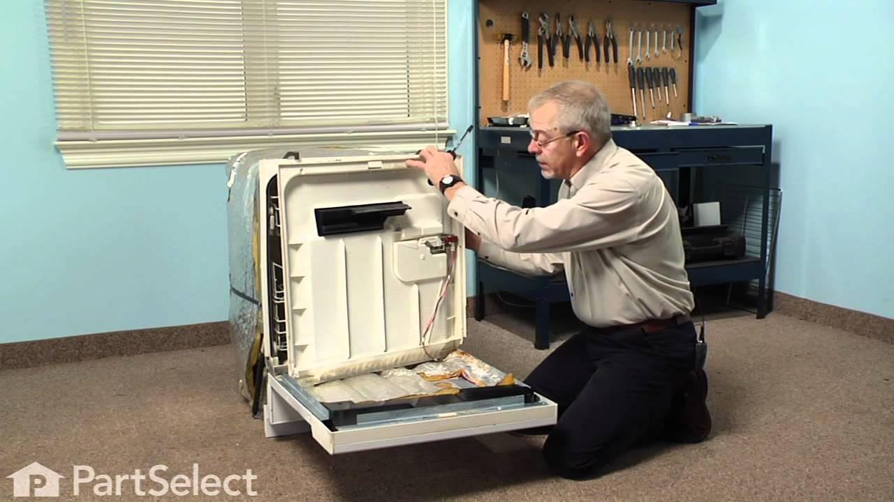 Replacing your Maytag Dishwasher Dispenser Door Latch Grommet