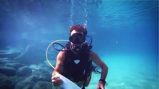 I Will Write An Awesome Underwater Message For Your Company
