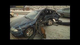 Страшна ДТП під Києвом: легковик вилетів назустріч машині поліції охорони