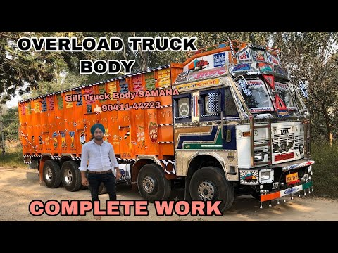 Tata MOTORS 3718 overload part 1