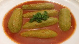 Lebanese stuffed zucchini kousa mahshi – طريقة تحضير الكوسا المحشي باللحمة