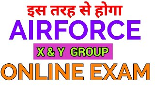 Casb Held Airforce Airmen x and y group Online exam, How to give online exam For (x & y ) group