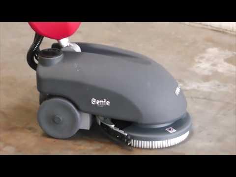 FIMAP Genie B Scheuersaugmaschine | Inbetriebnahme