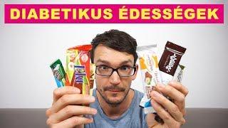 Diabetikus, cukormentes édességek, csokik tesztje