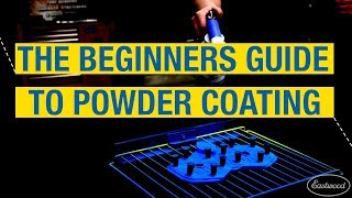 What to paint powder coat with