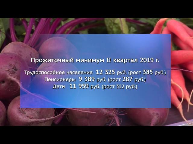 Прожиточный минимум вырос почти на 300 рублей