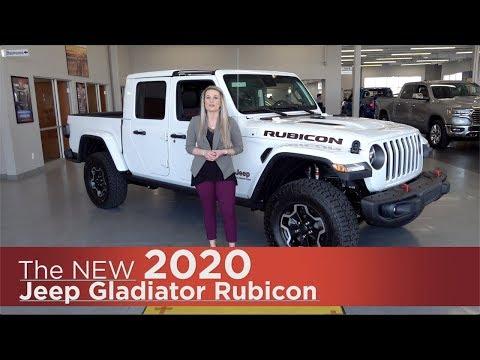 New 2020 Jeep Gladiator Rubicon