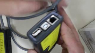Demonstrando Equipamento de Teste cabo de Redes para  RJ45 RJ11 e Cabos usb. Sergtech  sergtec