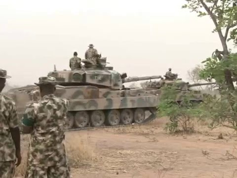 Nigerian Army Organize Combat Training For Officers And Soldiers