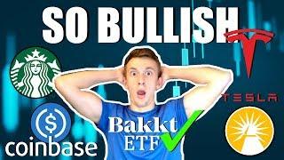 BREAKING: Coinbase Stablecoin $USDC | BAKKT ETF Confirmed✔️ | Elon Musk LOVES Bitcoin