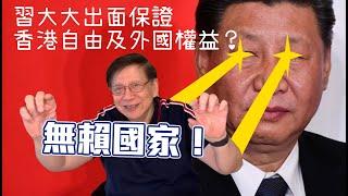 (中文字幕)中國被斥無賴國家!習大大出面保證香港自由及外國權益?國安法幾種劇本〈蕭若元:蕭氏新聞台〉2020-05-28
