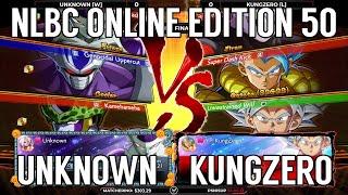 Dragon Ball FighterZ Grand Final - Unknown vs KungZero @ NLBC Online Edition #50
