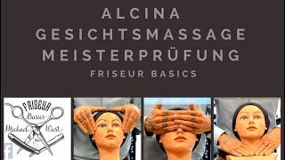 Alcina Gesichtsmassage für die Meisterprüfung im Friseurhandwerk