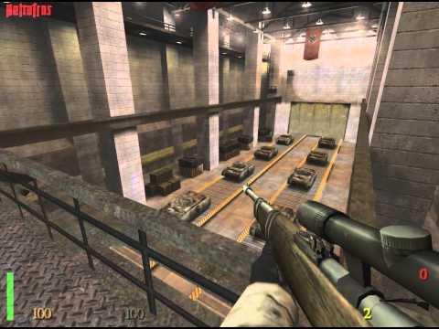 Wolfenstein: Врата Времени ☠Без ранений☠ Прохождение (RTCW аддон)