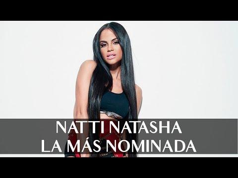 Natti Natasha video La más nominada a lo Premios Lo Nuestro - Enero 2019