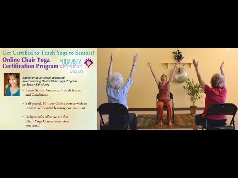 Online Chair Yoga Teacher Training and Certification Program with ...