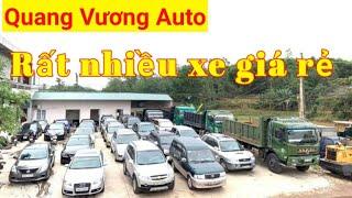 Tổng hợp các loại xe ô tô tại Quang Vương Auto
