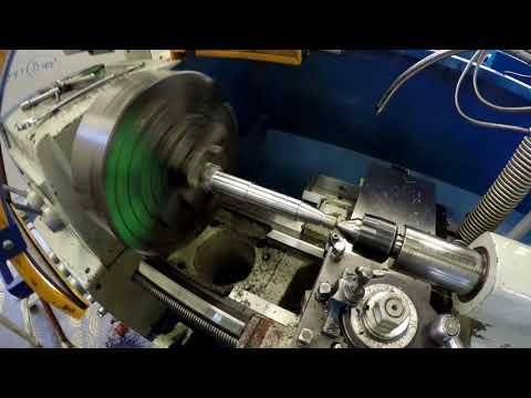 Op 10 machine the  3/4-16 UNF thread