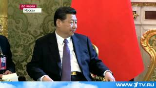 Владимир Путин называет китайский лидер Си Цзиньпин