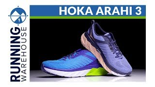 b241f995b9f7a6 HOKA ONE ONE Arahi 3 First Look Review ...