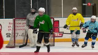 """#100секунд. Тренировка юных хоккеистов """"Кристалла"""""""