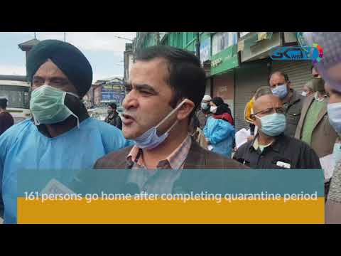 161 persons go home after completing quarantine period