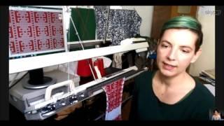 Veronika Persché: Digitale Strickmaschine
