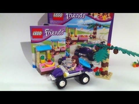 Vidéo LEGO Friends 41010 : Le buggy de plage d'Olivia