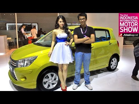 First impression review Suzuki Celerio dari Indonesia Motor Show 2014