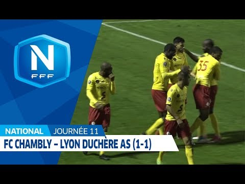 11e J National | FC Chambly Oise - Lyon Duchère AS (1-1)