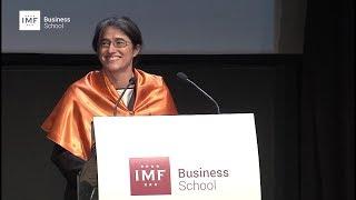 Graduación IMF – Belén Arcones, el discurso más emotivo