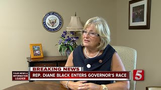 Rep. Diane Black Enters Tennessee Governor's Race